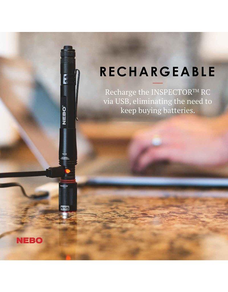 Inspector RC Rechargable Pen Light