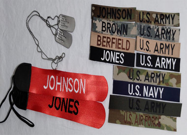 Name Tapes and ID Tags