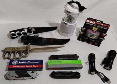 Knives, Flashlights, Tools & More