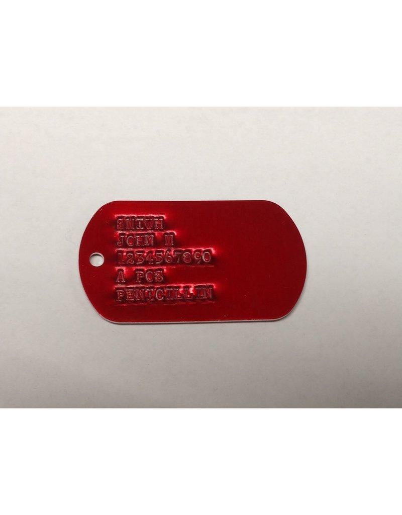 Custom Printed Dog Tag, ID Tag - Set of 2