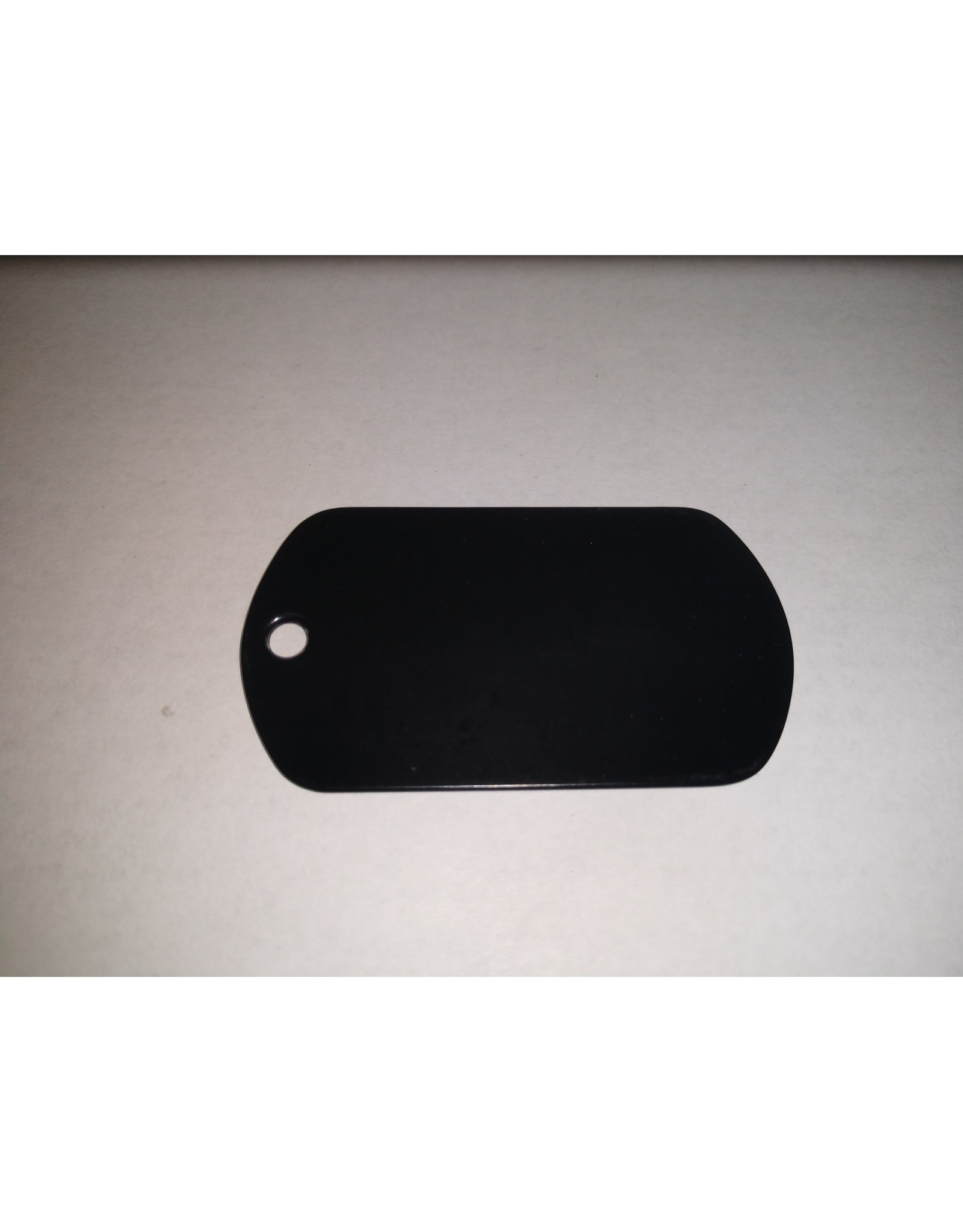Unprinted Dog Tag - Single
