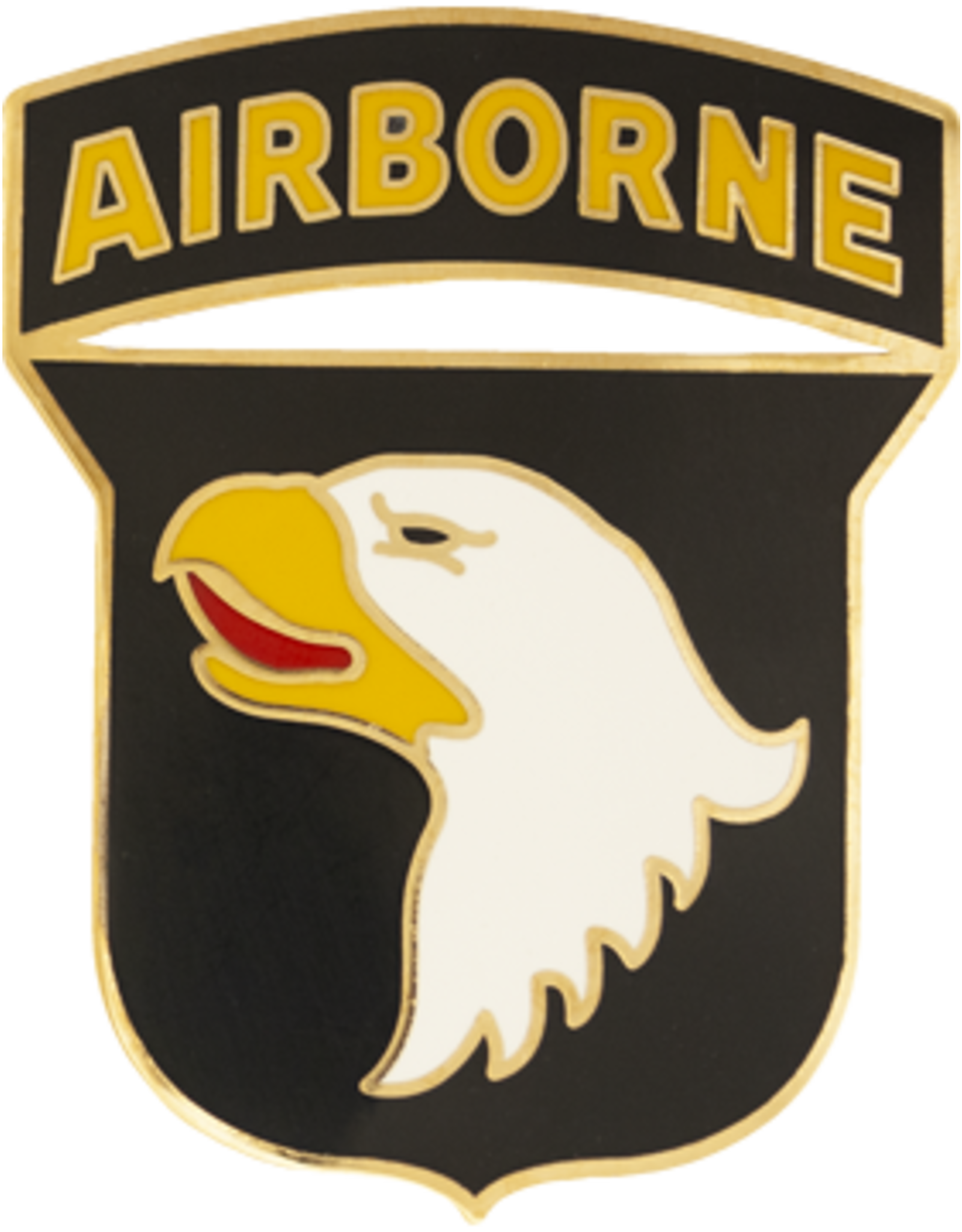 101st Airborne Dress Blue ID Badge