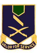 137th Infantry Crest - Valor for Service