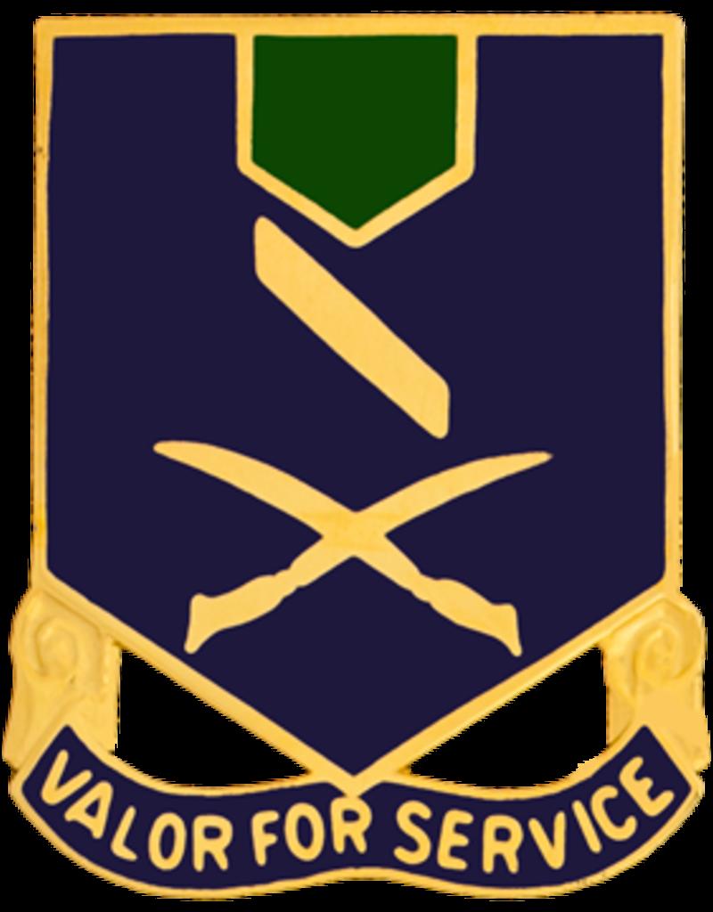 137th Infantry Crest - Valor for Service