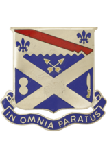 18th Infantry Unit Crest - In Omnia Paratus