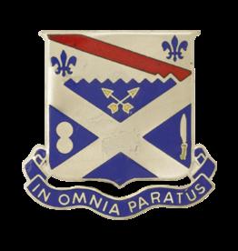 18th Infantry Unit Crest - In Omnia Paratus