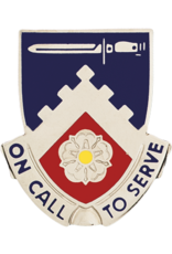 299th Support Unit Crest - On Call to Serve