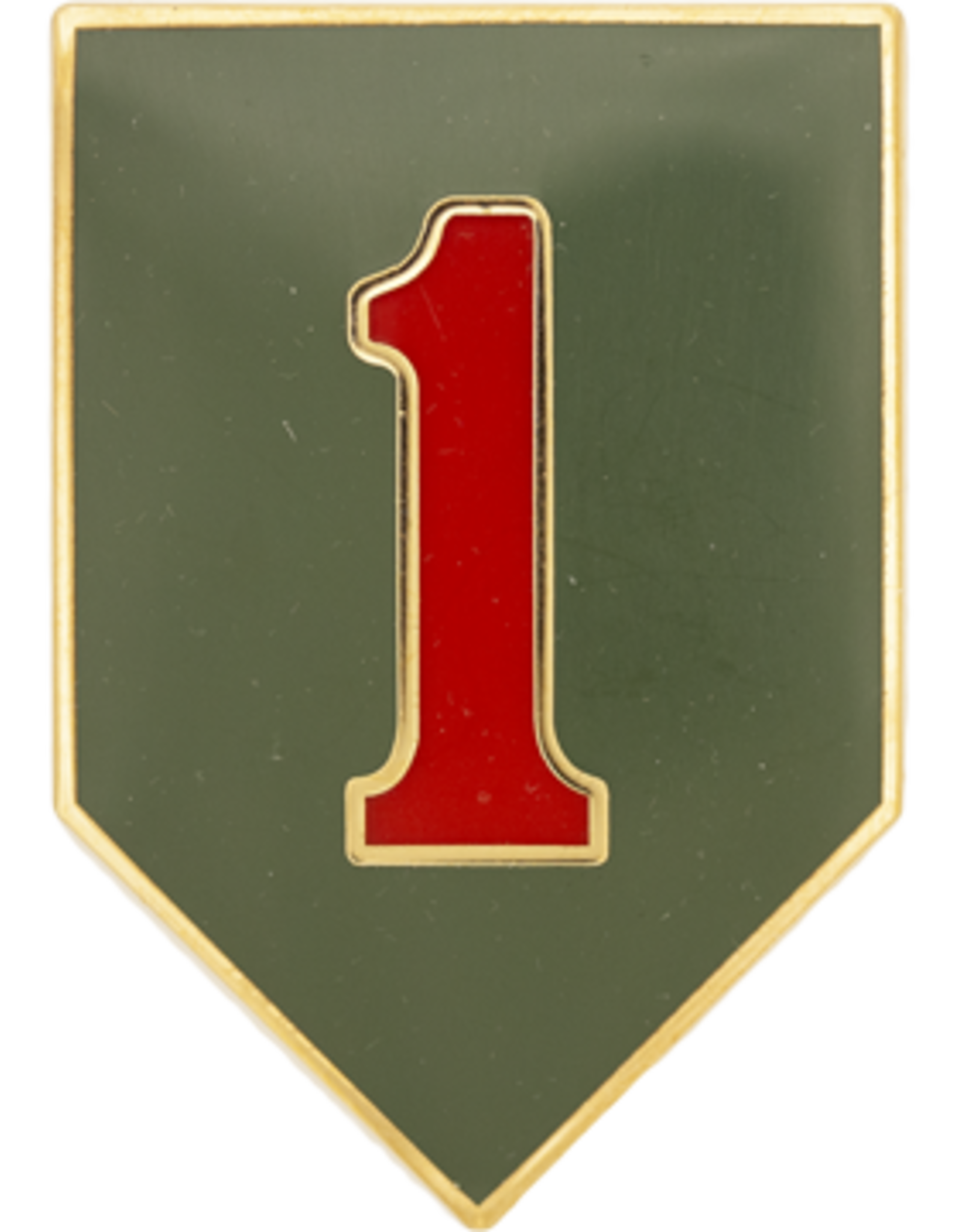 1st Infantry Dress Blue ID Badge