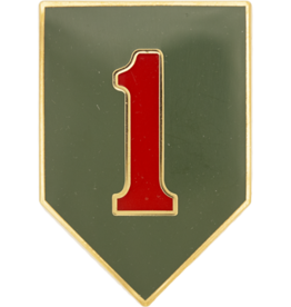 1st Infantry Dress Blue ID Badge
