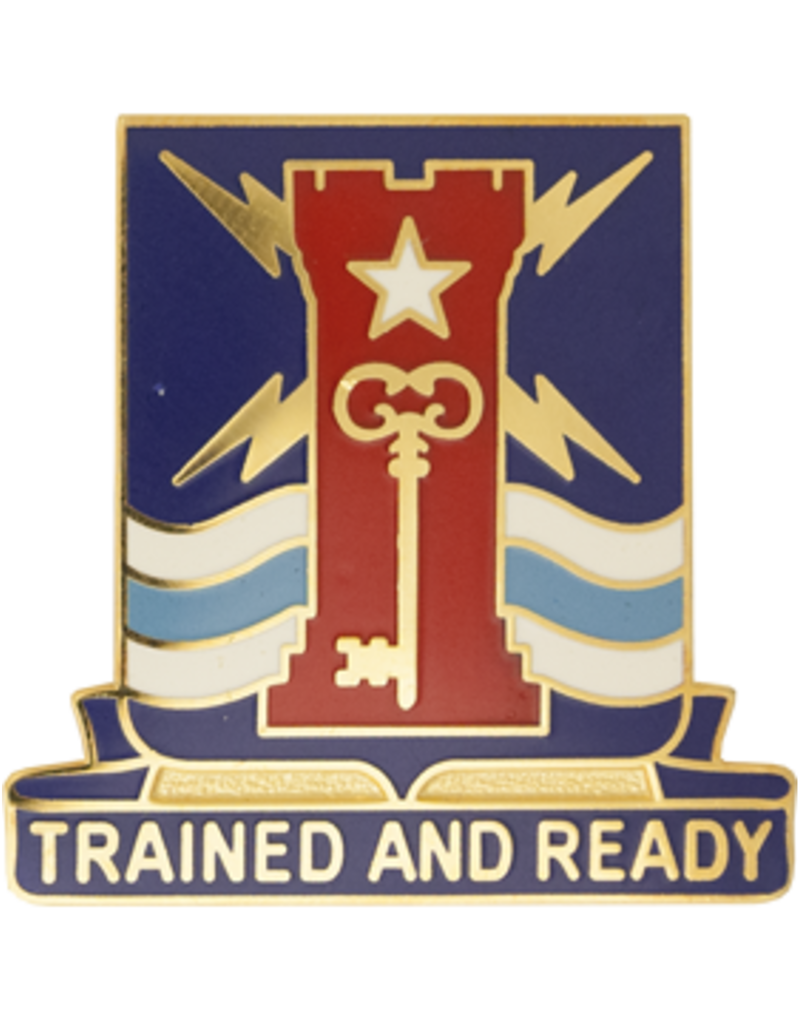 4th Brigade 1st Infantry Unit Crest - Trained And Ready