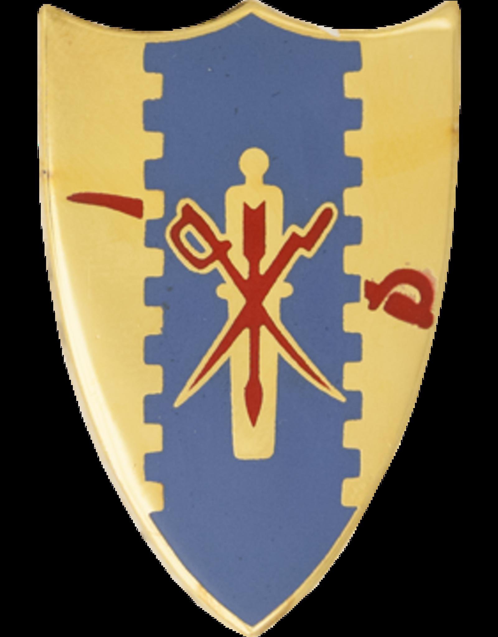 4th Cavalry Regimental Unit Crest