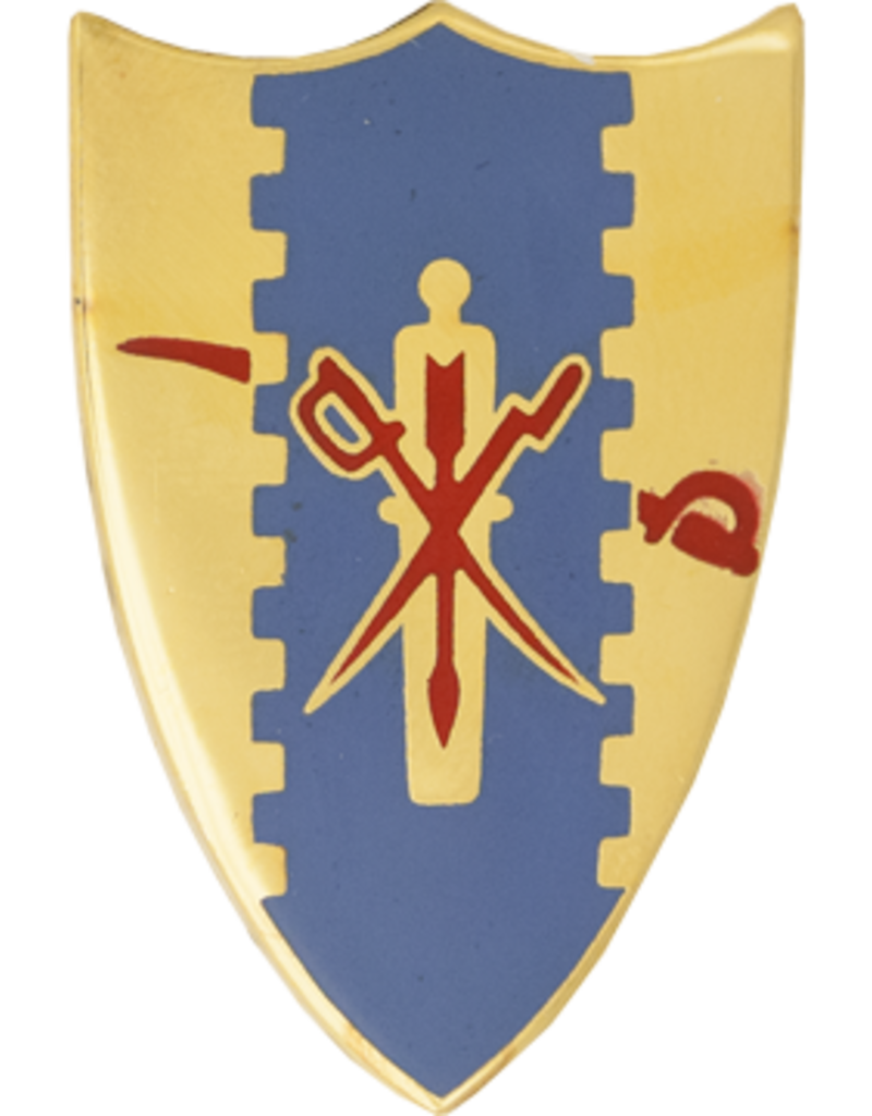 4th Cavalry Regimental Unit Crest