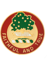 5th Field Artillery Unit Crest - Faithful And True
