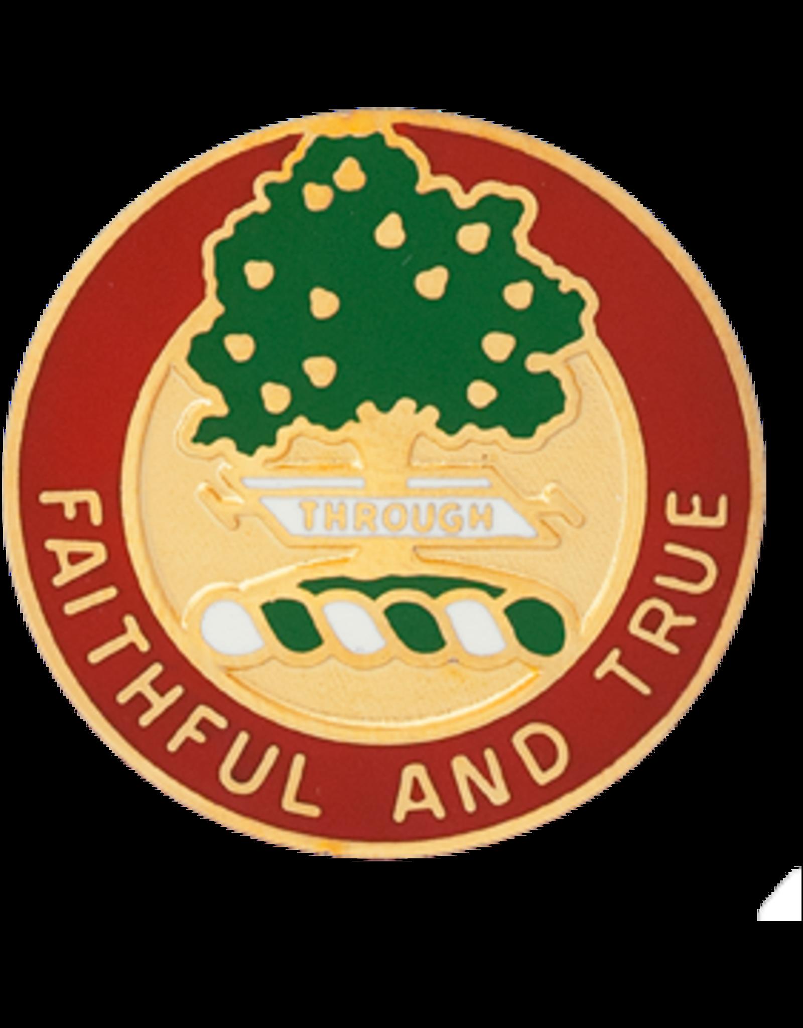 5th Field Artillery Unit Crest - Faithful And True