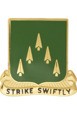 70th Armor Unit Crest - Strike Swiftly
