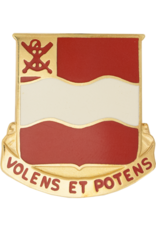 4th Engineer Unit Crest - Volens Et Potens