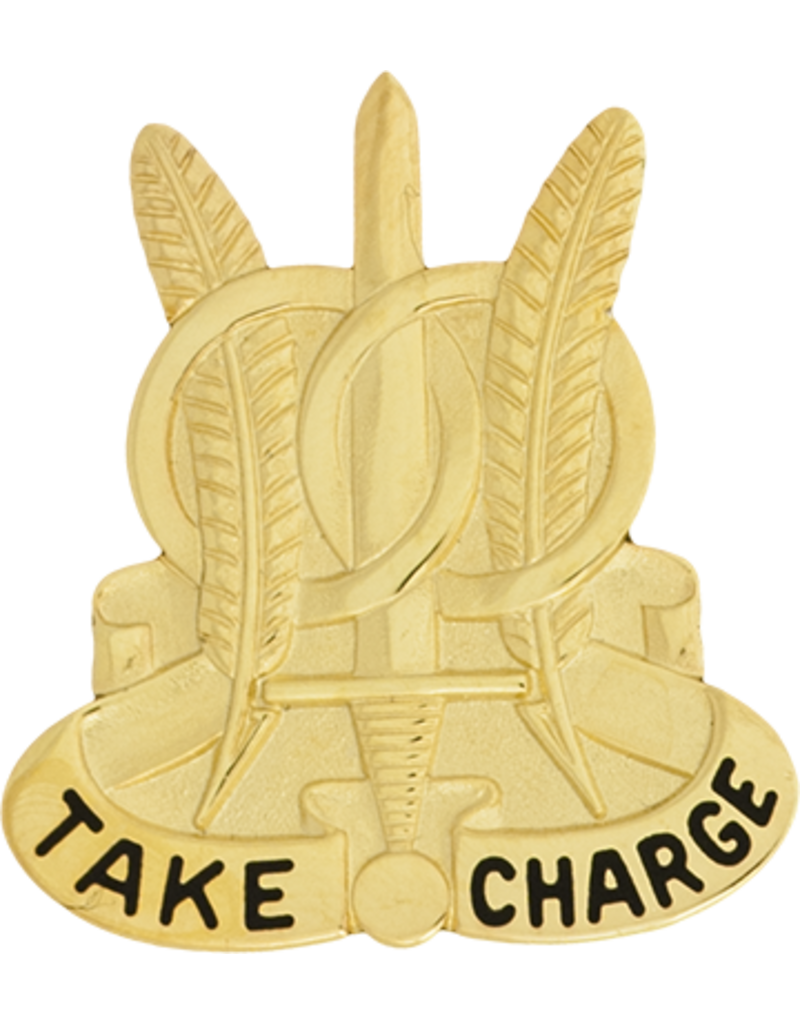 97th Military Police Unit Crest - Take Charge