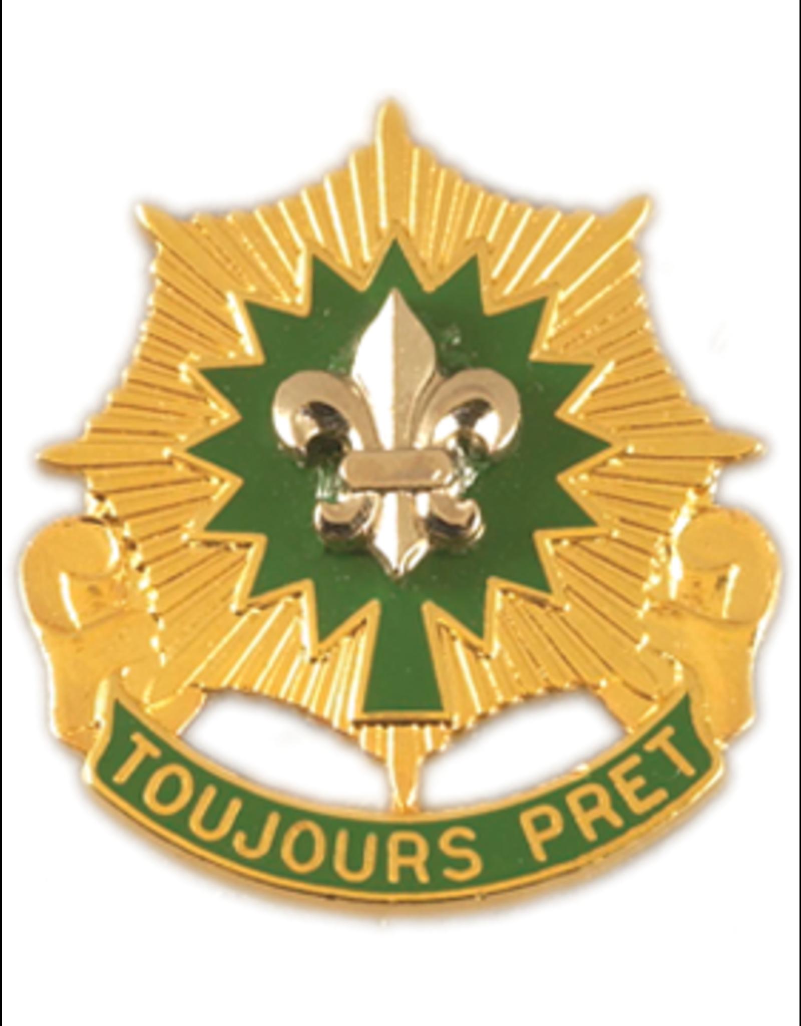 2nd Armored Cavalry Regiement Unit Crest - Toujours Pret