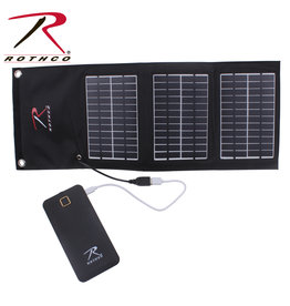 Rothco M/A Folding Solar Panel and Powerbank