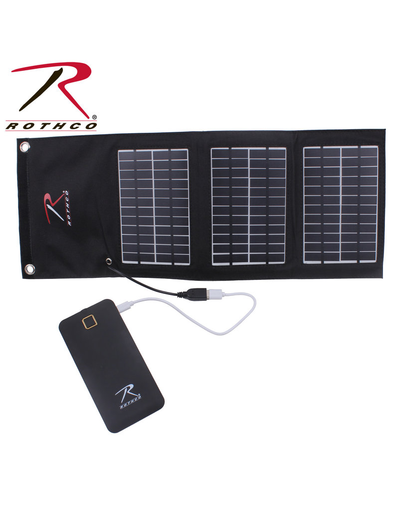 M/A Folding Solar Panel and Powerbank