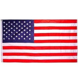 Flag - 3'x5' - USA Poly Cotton, Made in USA