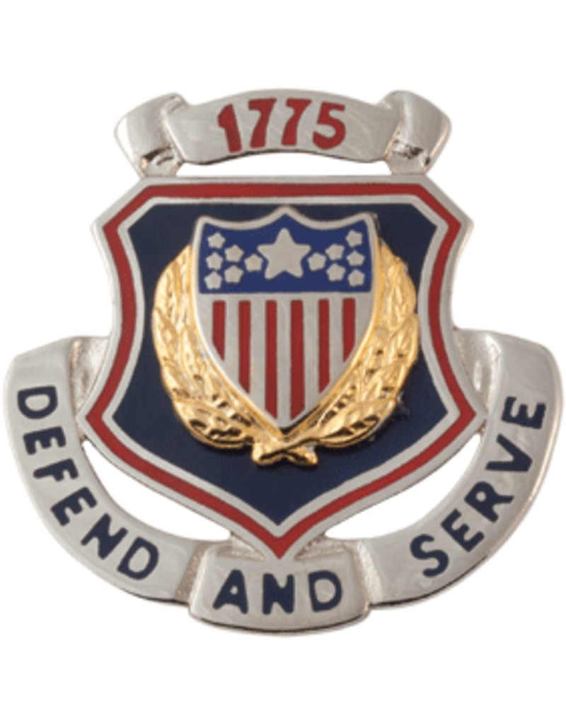 Adjutant General Regimental Crest - Defend And Serve