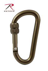 Carabiner W/Key Ring - Locking
