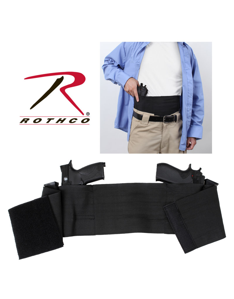 Rothco Concealed Elastic Belly Holster - Ambidextrious