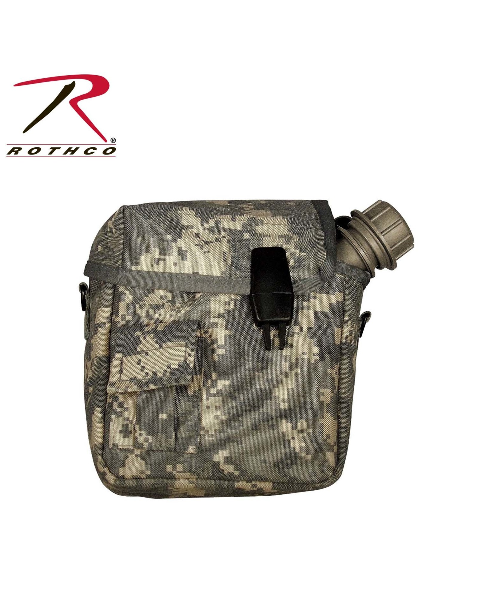 Rothco 2 QT Canteen Cover Molle - Multiple Colors