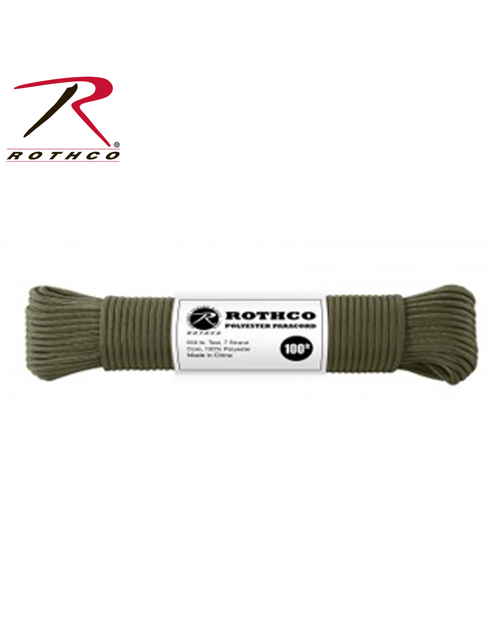 Rothco 550 Polyester Paracord - Multiple Colors