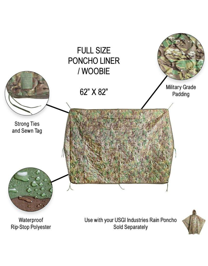 """""""Woobie"""" Poncho Liner - OCP Multicam"""