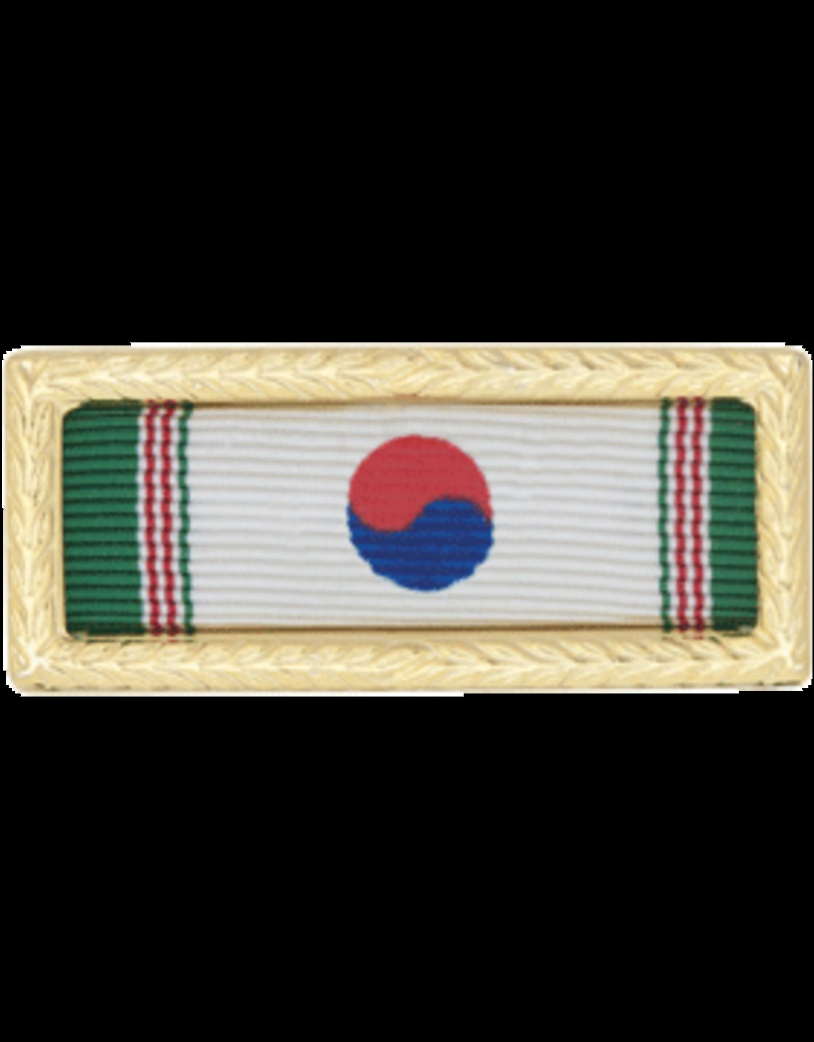 Korean Army Ribbon w/Frame
