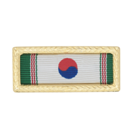 Ribbon w/Frame - Korean Army