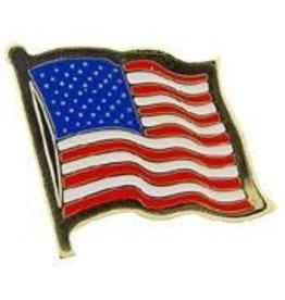 Pin - USA Flag Wavy I