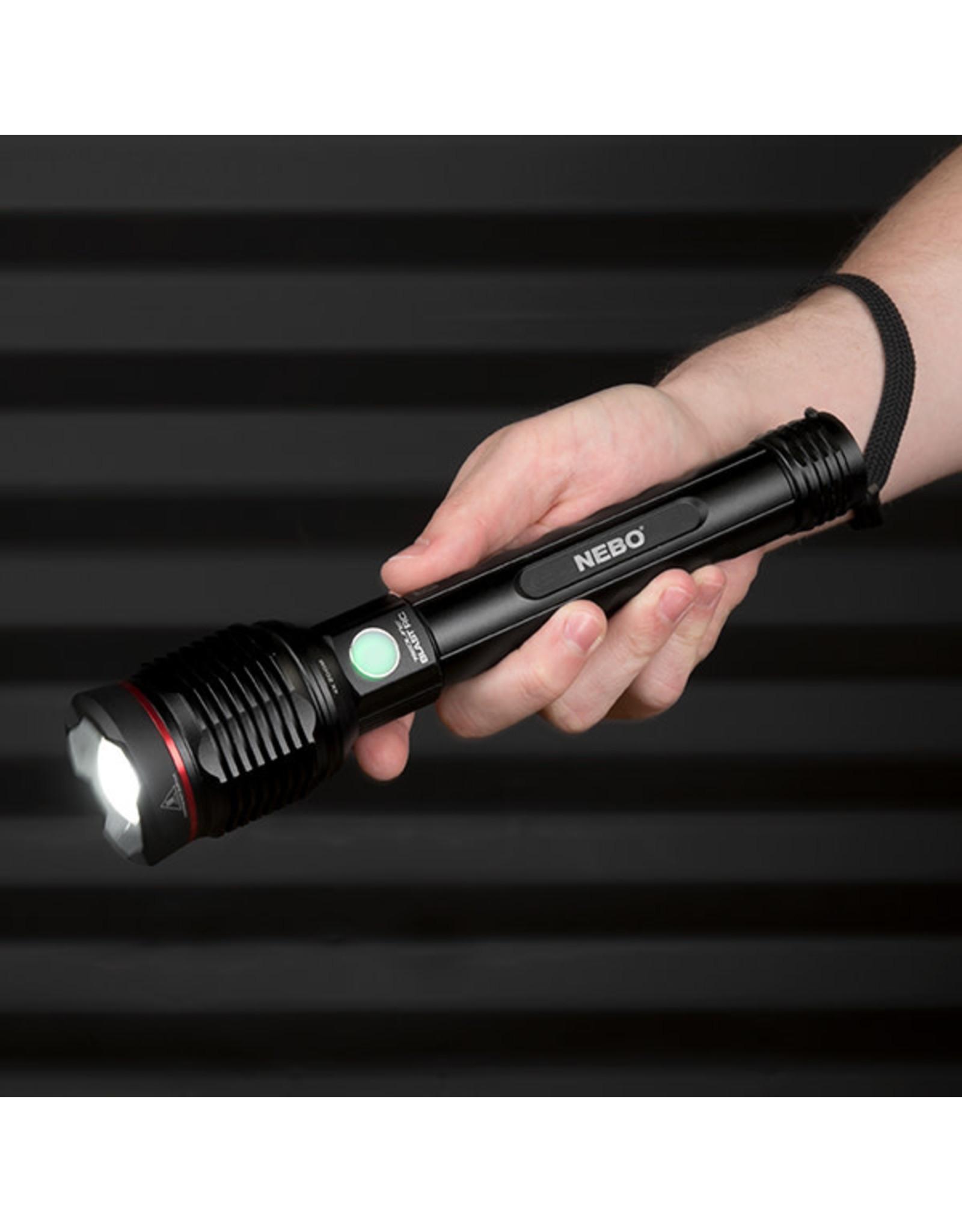 Nebo Redline Blast RC Rechargeable Flashlight - 3200 Lumens