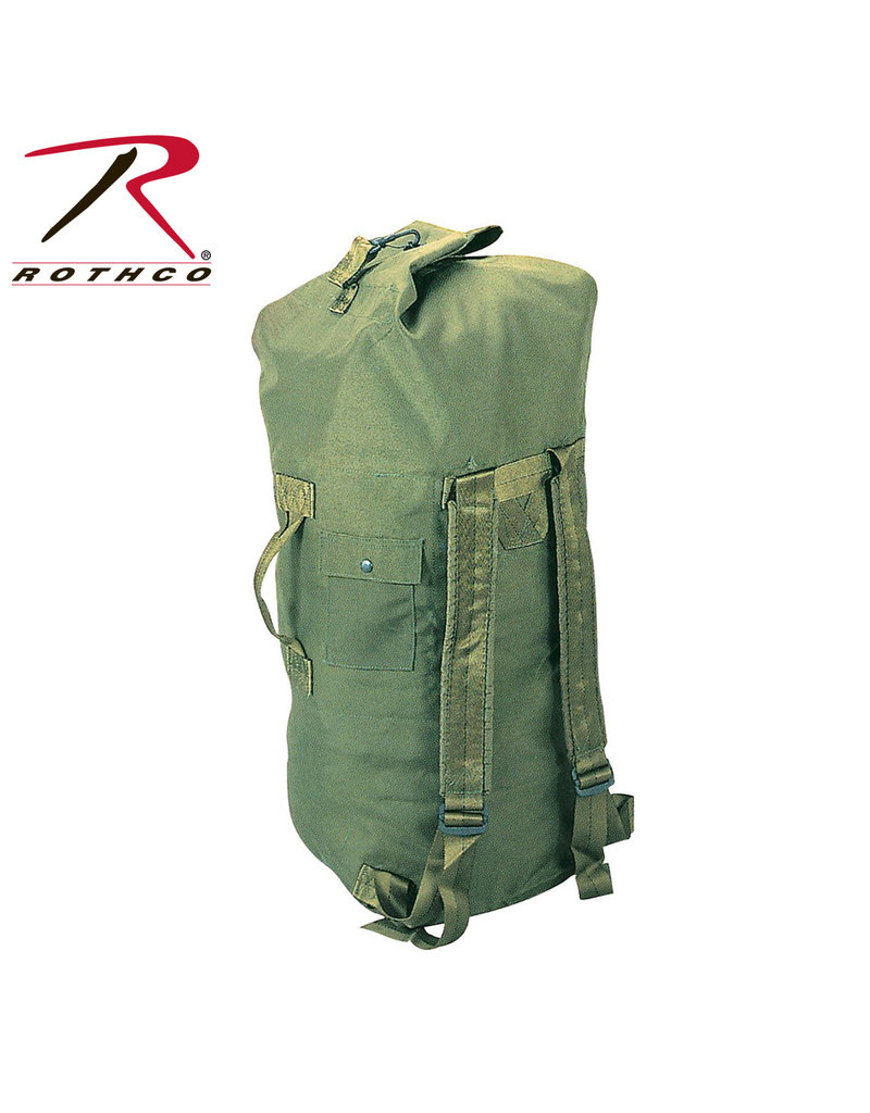 Rothco GI Type Cordura 2 Strap Duffel Bag (Not Government Issue)