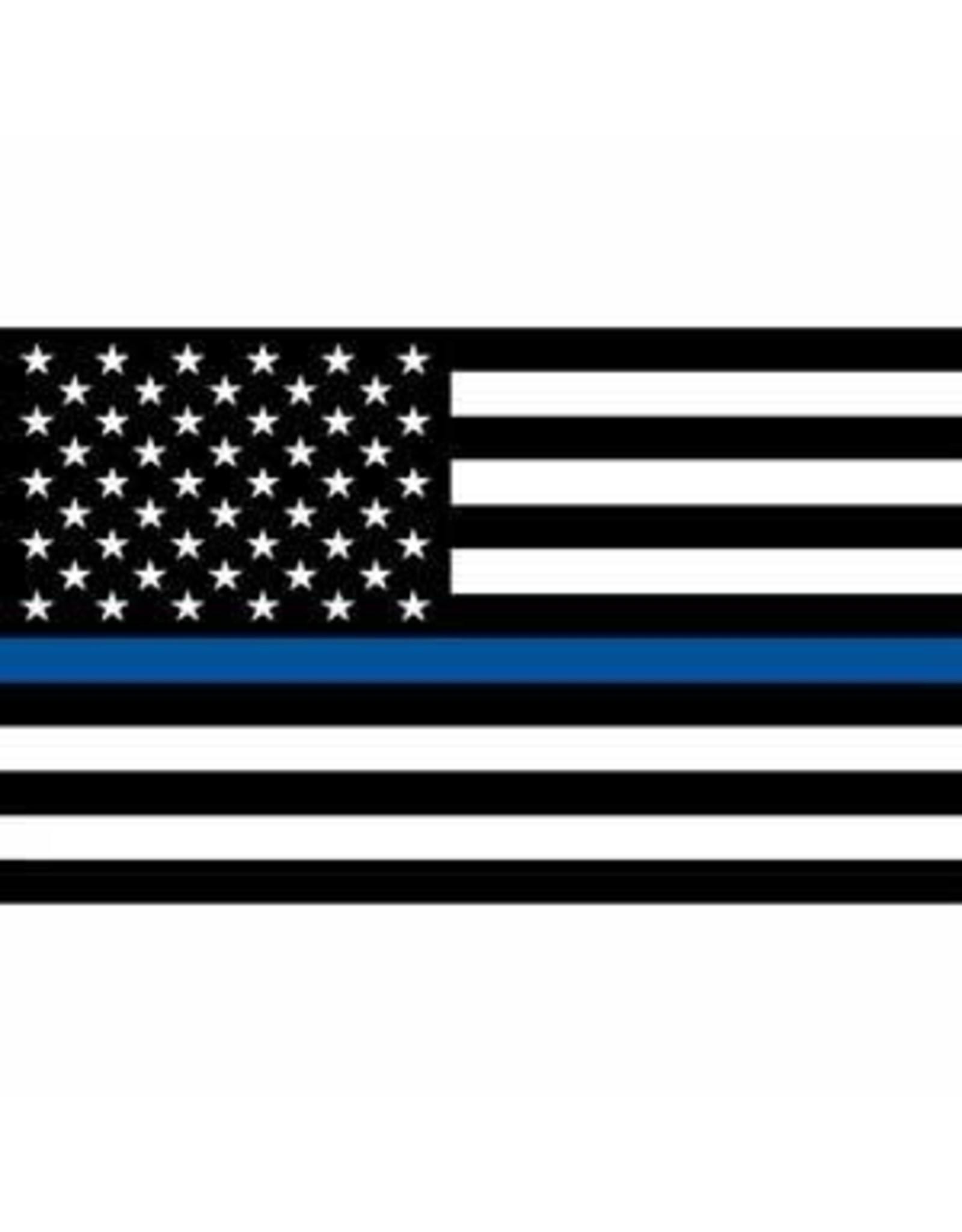 Flag - 3ftx5ft - Police Blue Line