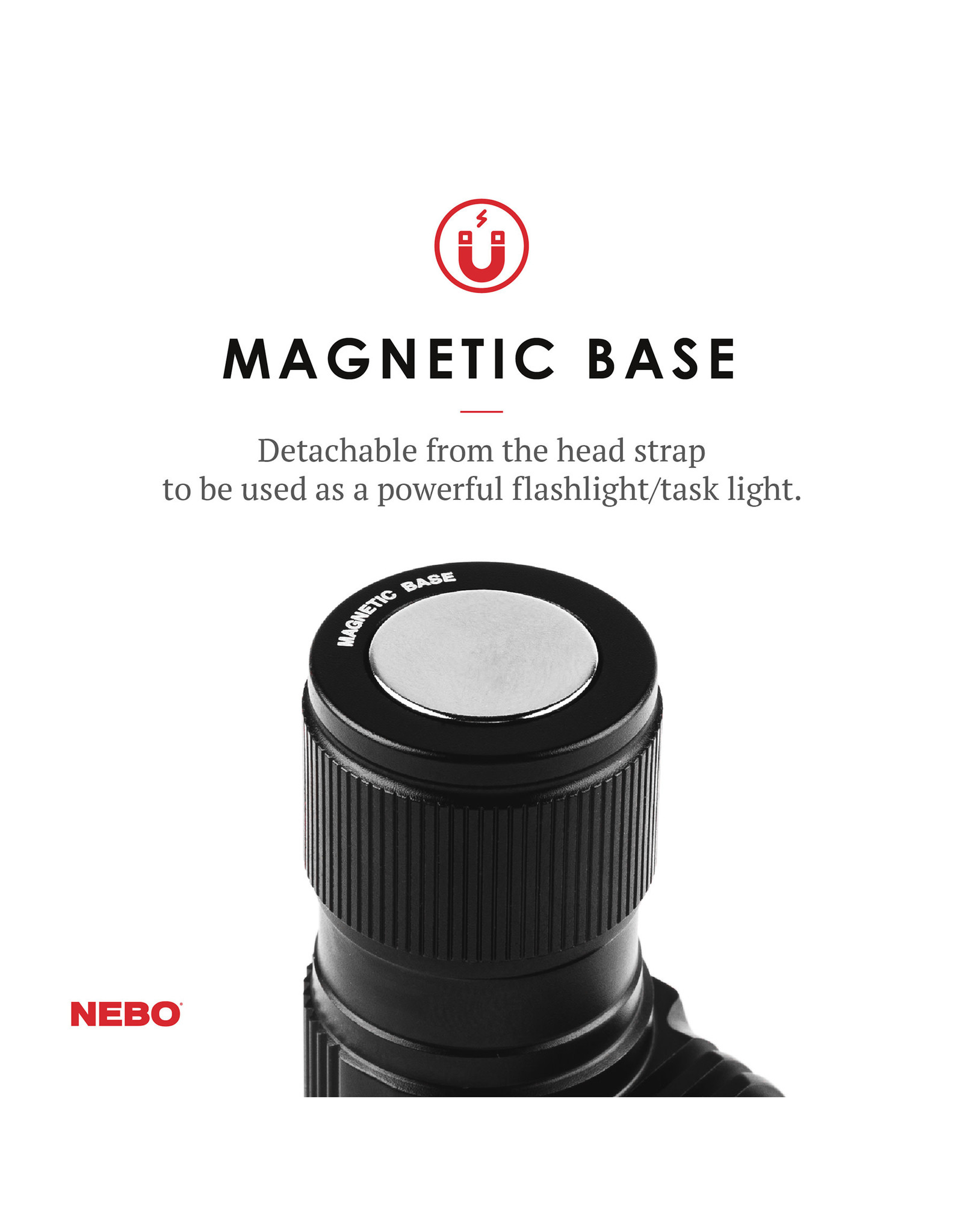 Nebo Transcend Rechargable Headlamp