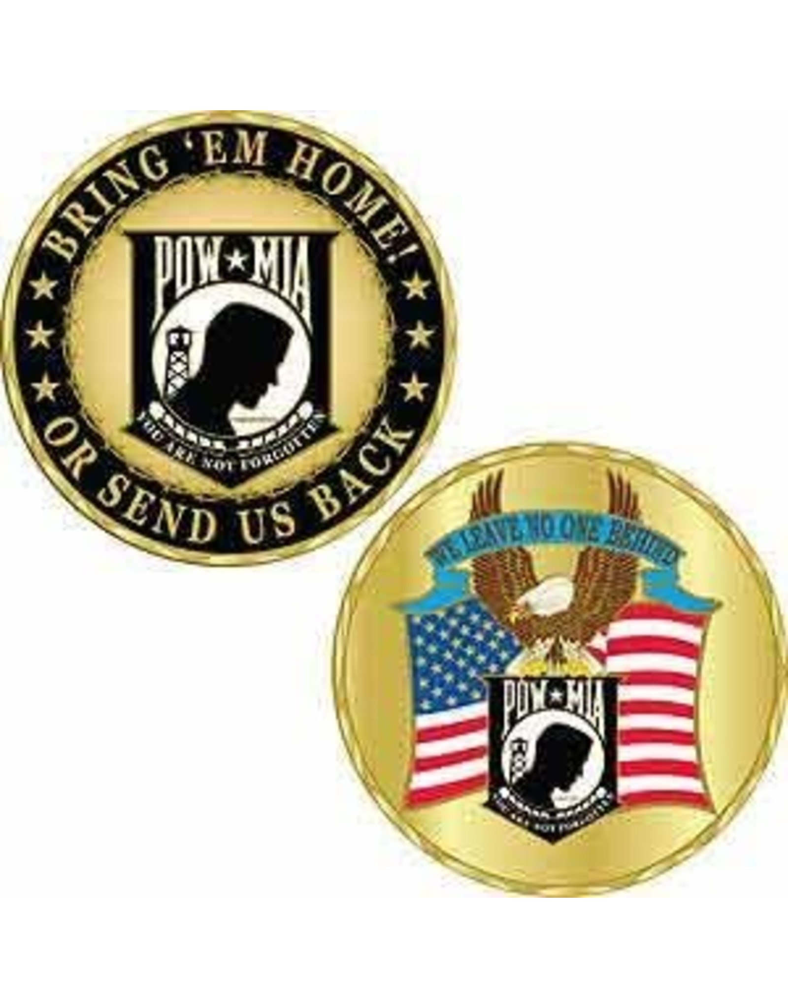 Challenge Coin - POWMIA S