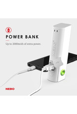 Nebo PAL-360 Power and Light with Fan, Rechargeable
