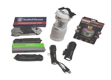 Knives, Flashlights, Tools & More