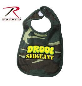 Drool Sergeant Bib