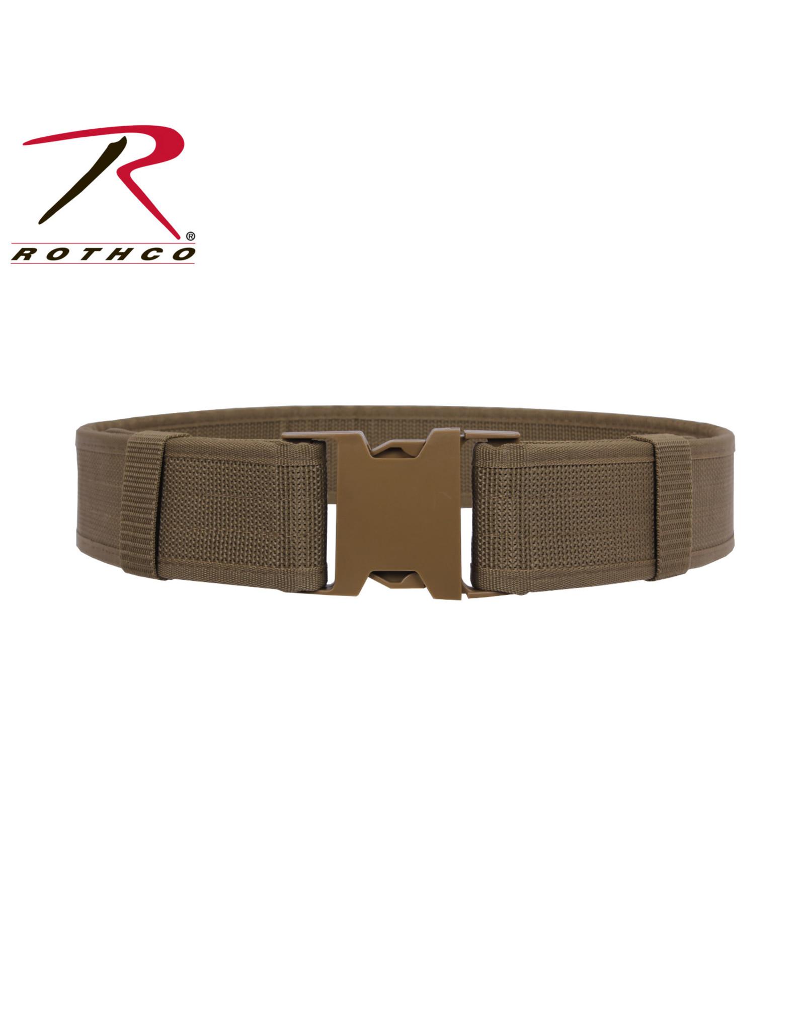 """Duty Belt - 2"""" Wide Coyote L/XL 40""""-44"""""""