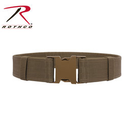 "Duty Belt - 2"" Wide Coyote L/XL 40""-44"""