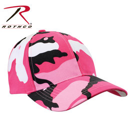 Low Profile Cap Pink Camo