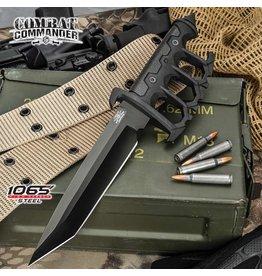 Modern Trench Knife w/ Sheath - Black