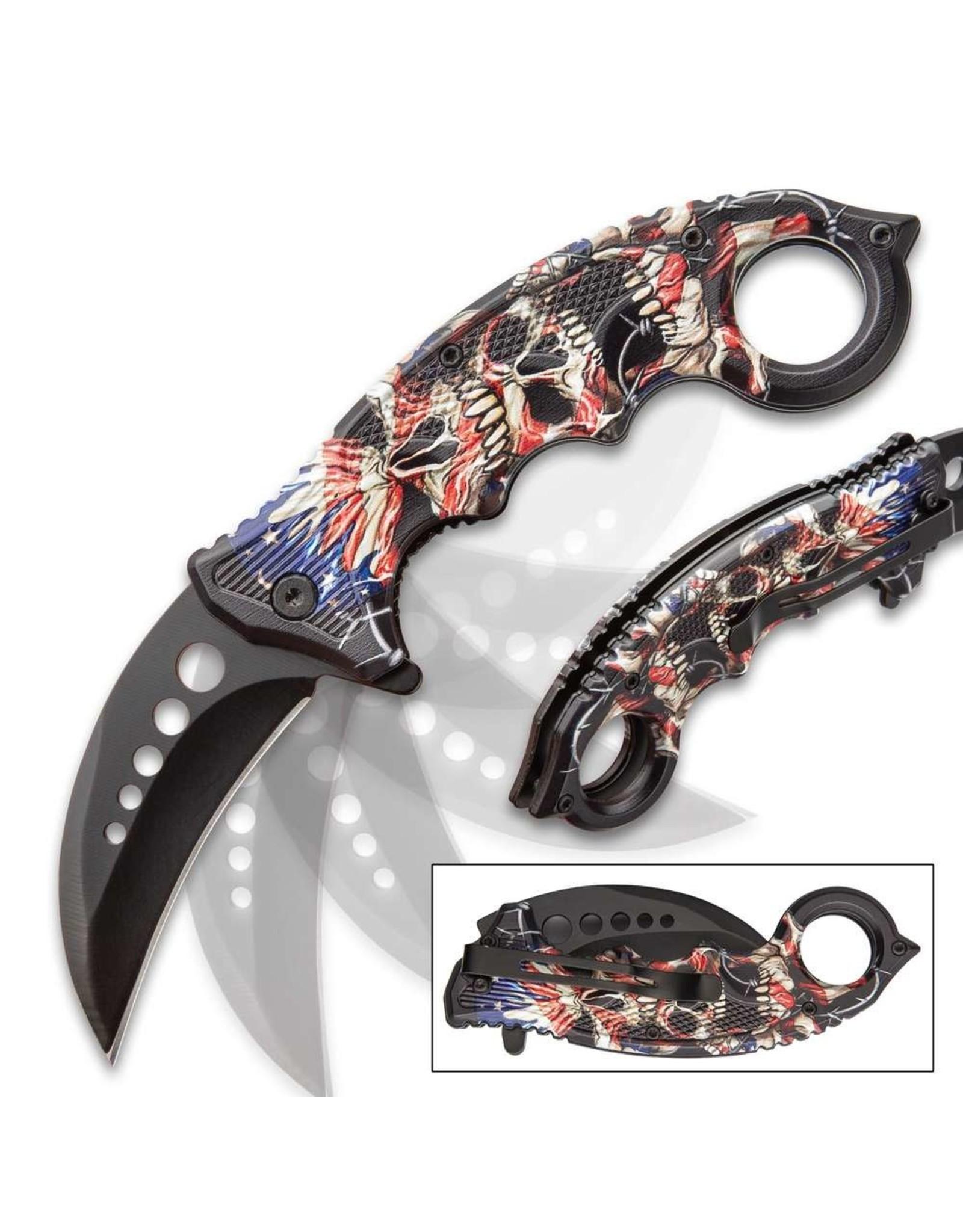 Liberty's Price Assisted Opening Karambit Knife