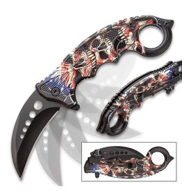 Liberty's Price Assisted Opening Karambit Knife