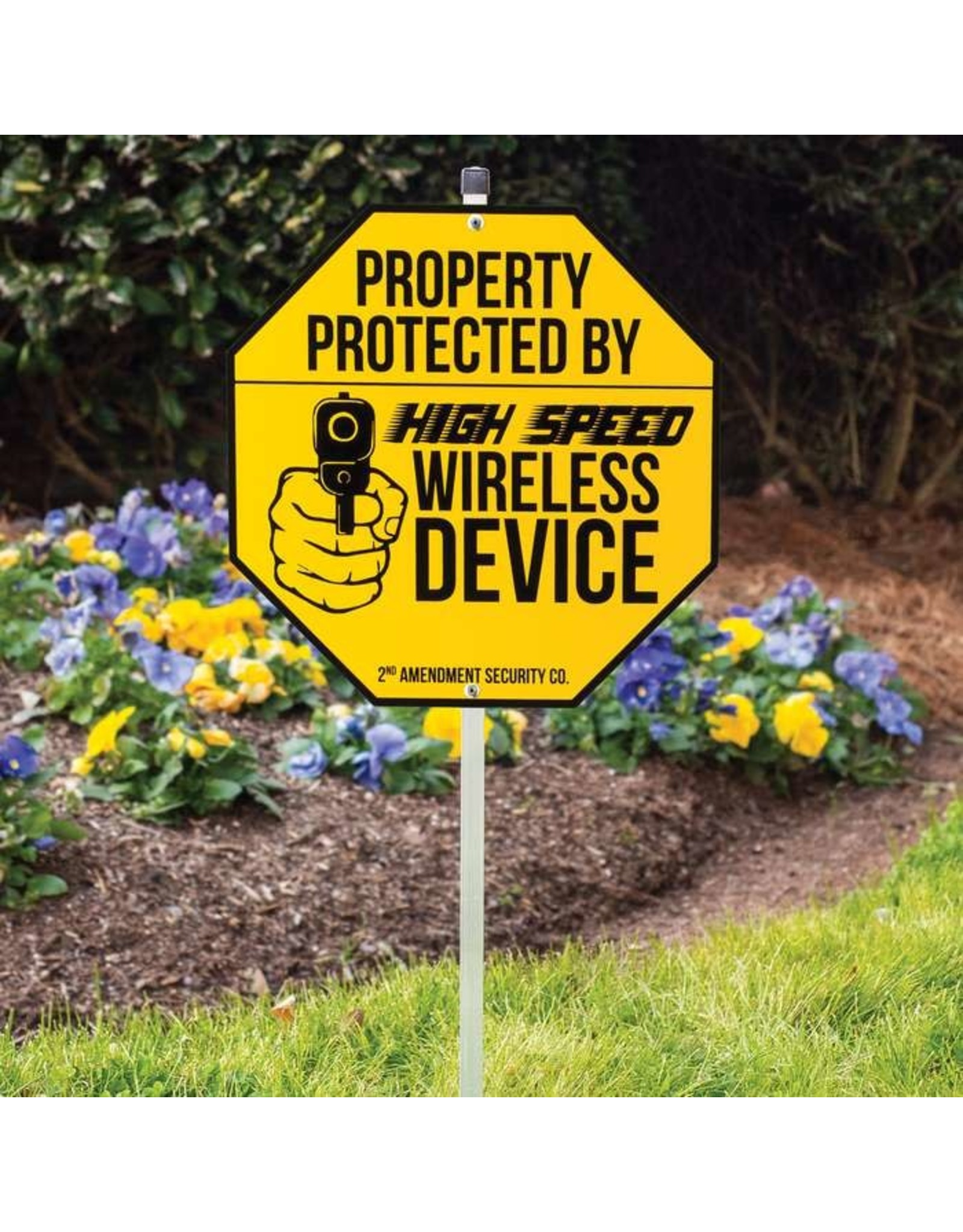 Protected by Wireless Device Sign
