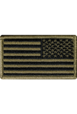 Reverse US Flag Patch